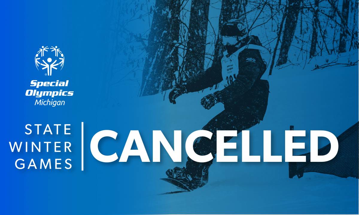 Special Olympics Michigan State Winter Games Cancelled