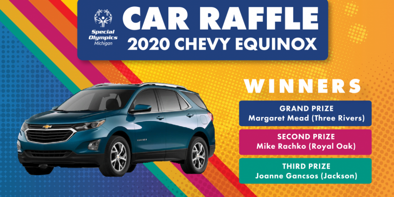 Car Raffle winners' names